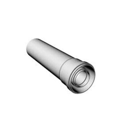 Ricom gas PPS/Alu Ø 80/125 mm-es, 0,5m-es toldócső