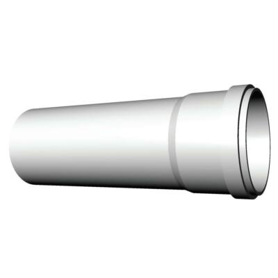 Ricom gas PPs műanyag Ø 160 mm-es, 2m-es toldócső