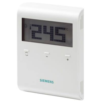Siemens RDD100.1RF Szobatermosztát vezeték nélküli kivitel ( csak adó egység )