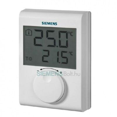 Siemens RDH100 digitális szobatermosztát
