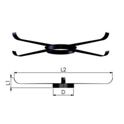 Tricox Központosító flexibilis rendszerhez, Ø 110 mm, 5 db/csomag