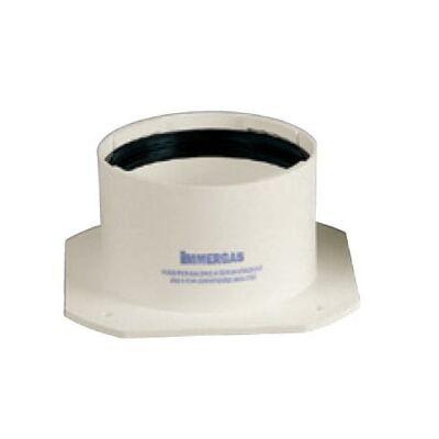 Immergas Ø 80 mm-es, karimás, induló idom füstgáz elvezetéshez