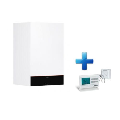 Viessmann Vitodens 100-W B1HF 32 kW Fűtő fali kondenzációs gázkazán + AJÁNDÉK Q7RF termosztát