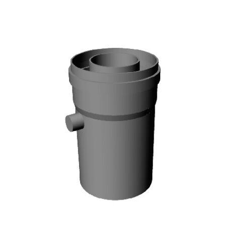 Ricom Gas PPS/Alu 80/125-ös Kondenzátum leválasztó idom