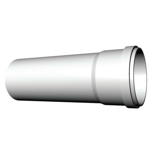 Ricom gas PPs műanyag Ø 100 mm-es, 0,25m-es toldócső