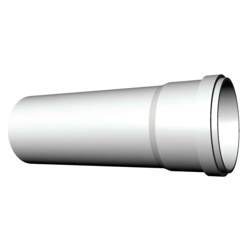 Ricom gas PPs műanyag Ø 80 mm-es, 1m-es toldócső