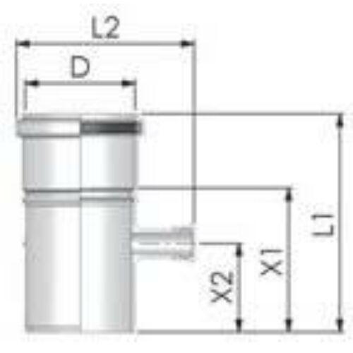 Tricox PPs mérőpont 80mm