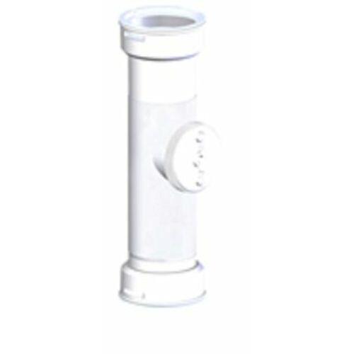 Ariston Egyenes Tisztító , alu/pps, 60/100 mm