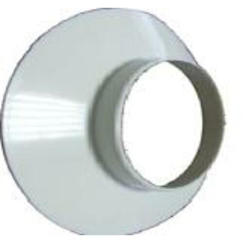 Immergas Takaró gyűrű fali átvezetéshez Ø 80 mm, fehér színben