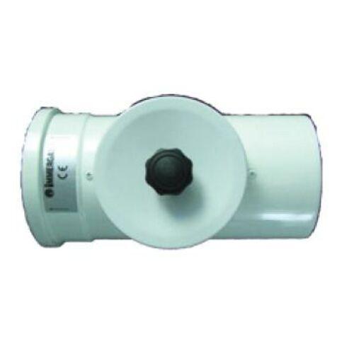Immergas Ø 80/125 mm-es, egyenes idom nyitható vizsgáló nyílással